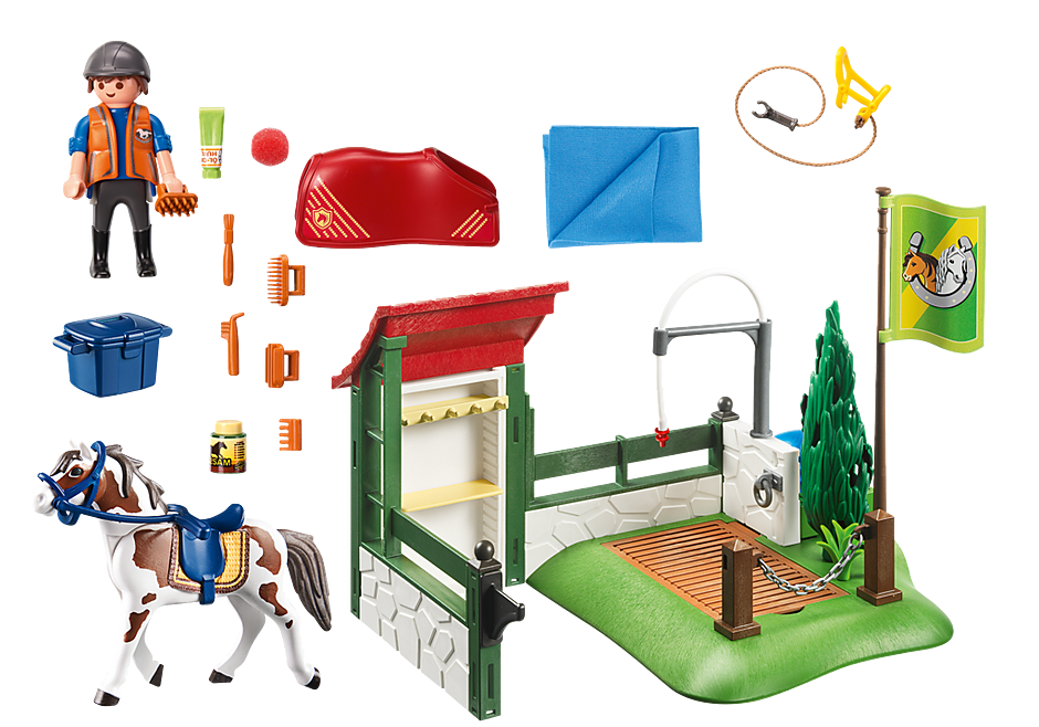 http://media.playmobil.com/i/playmobil/6929_product_box_back/Box de lavage pour chevaux