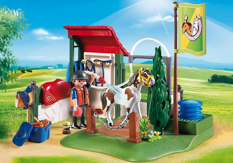 6929 Box de lavage pour chevaux  detail image 1
