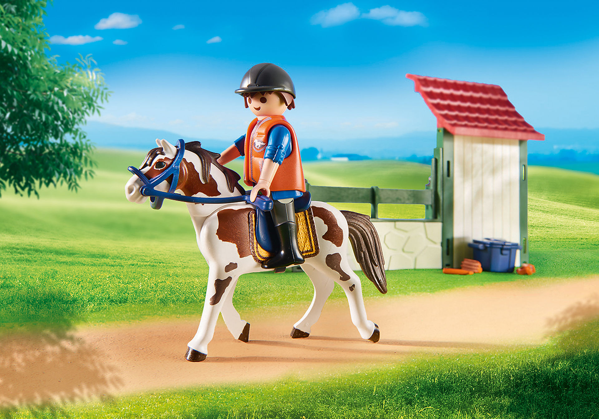 http://media.playmobil.com/i/playmobil/6929_product_extra3/Box de lavage pour chevaux