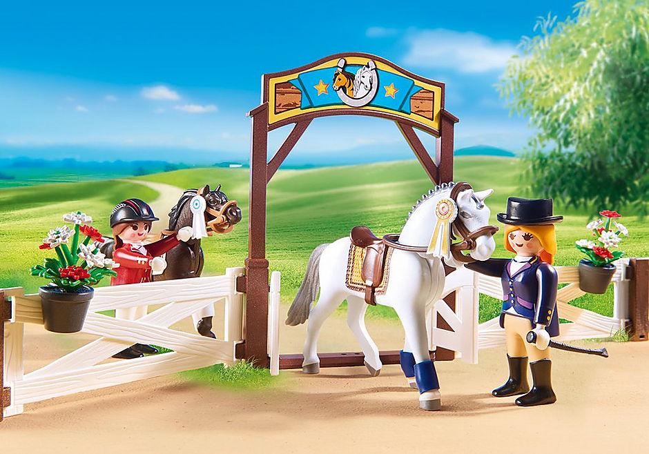 6930 Paardenwedstrijd detail image 6
