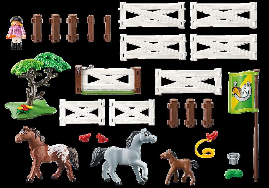 6931 Enclos avec chevaux  detail image 4