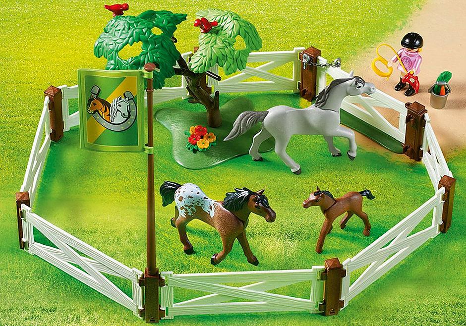 6931 Enclos avec chevaux  detail image 6