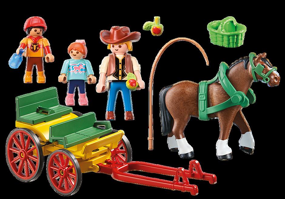 6932 Calesse con cavallo detail image 4