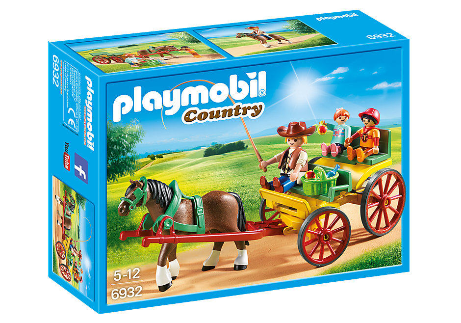 http://media.playmobil.com/i/playmobil/6932_product_box_front/Άμαξα με οδηγό και παιδάκια