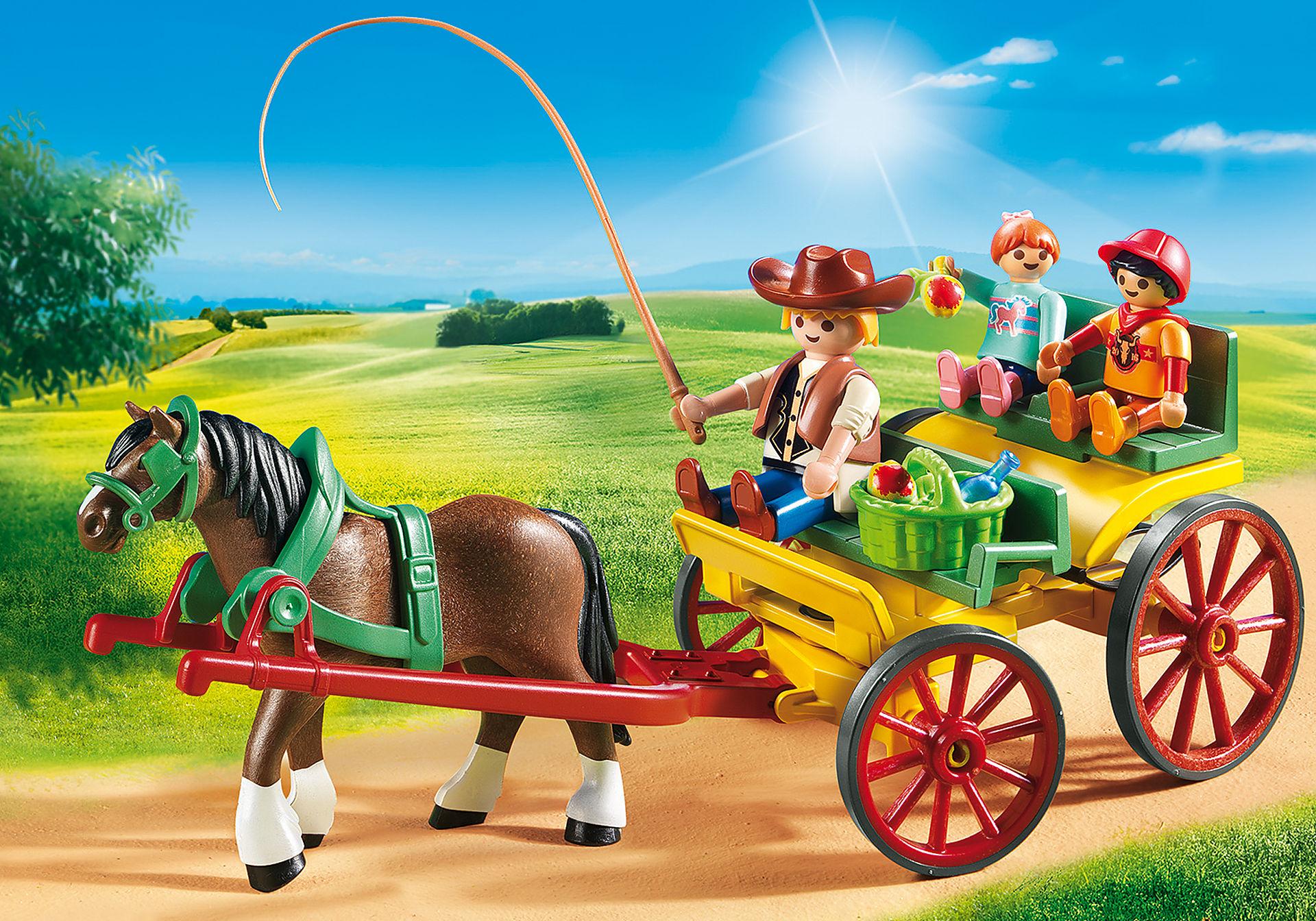 6932 Carruagem com Cavalo zoom image1
