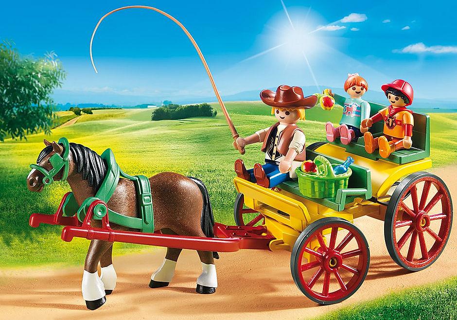 6932 Horse-Drawn Wagon detail image 1