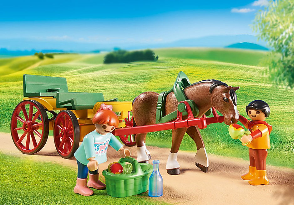 6932 Calesse con cavallo detail image 5
