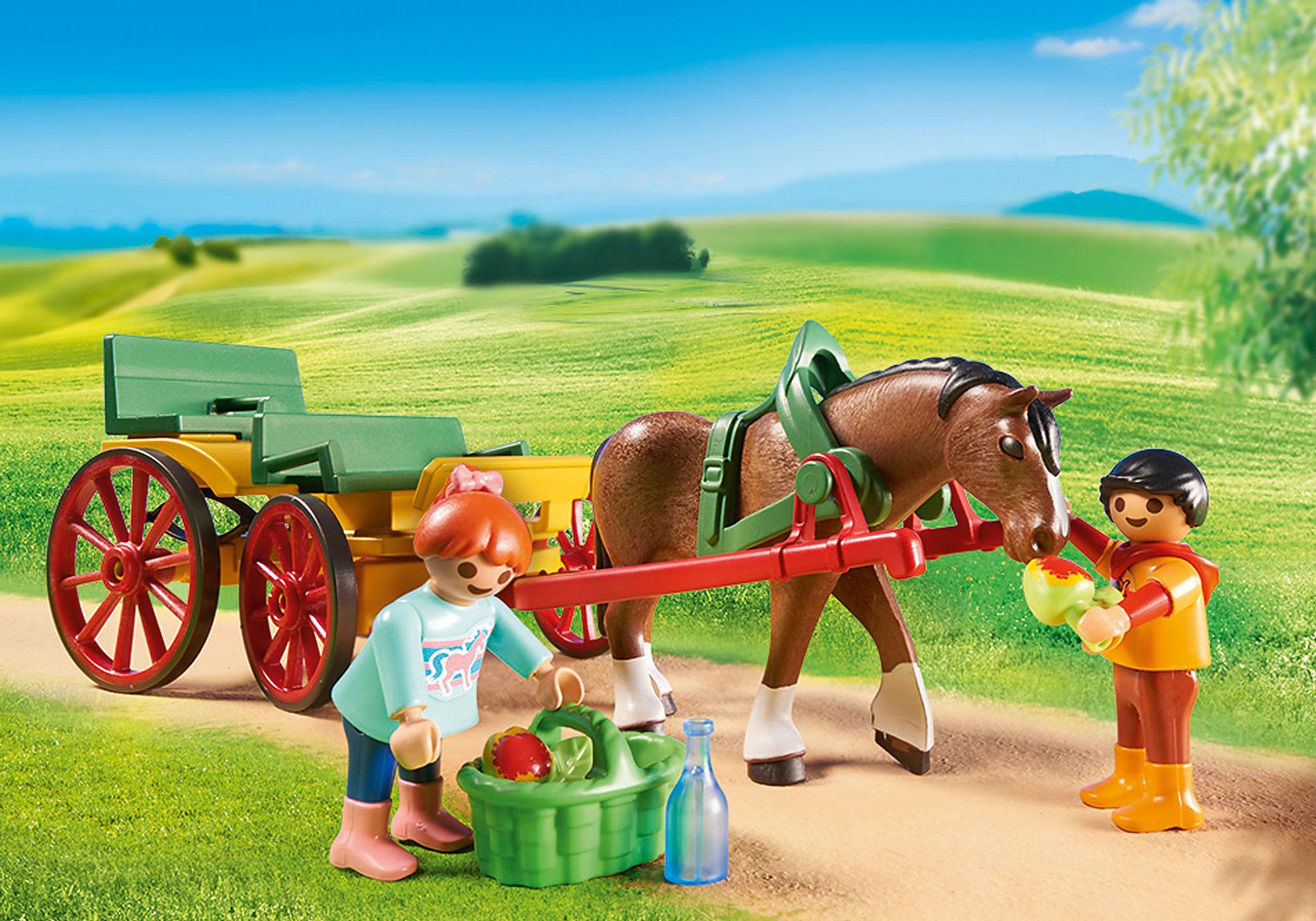 6932 Horse-Drawn Wagon zoom image5