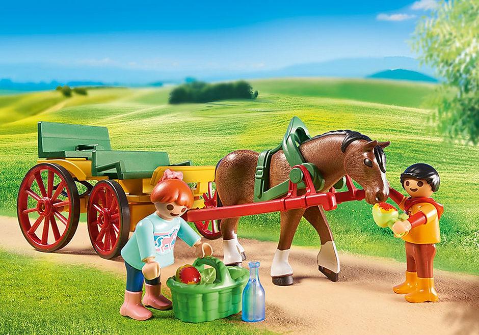 6932 Horse-Drawn Wagon detail image 5