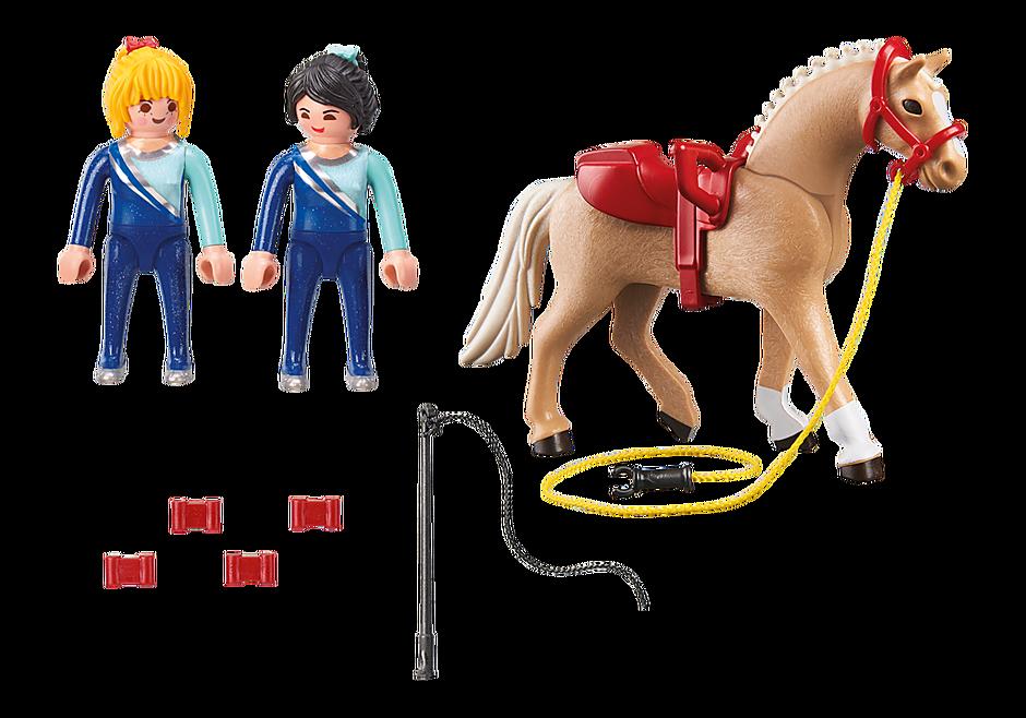 6933 Voltigeuses et cheval  detail image 4