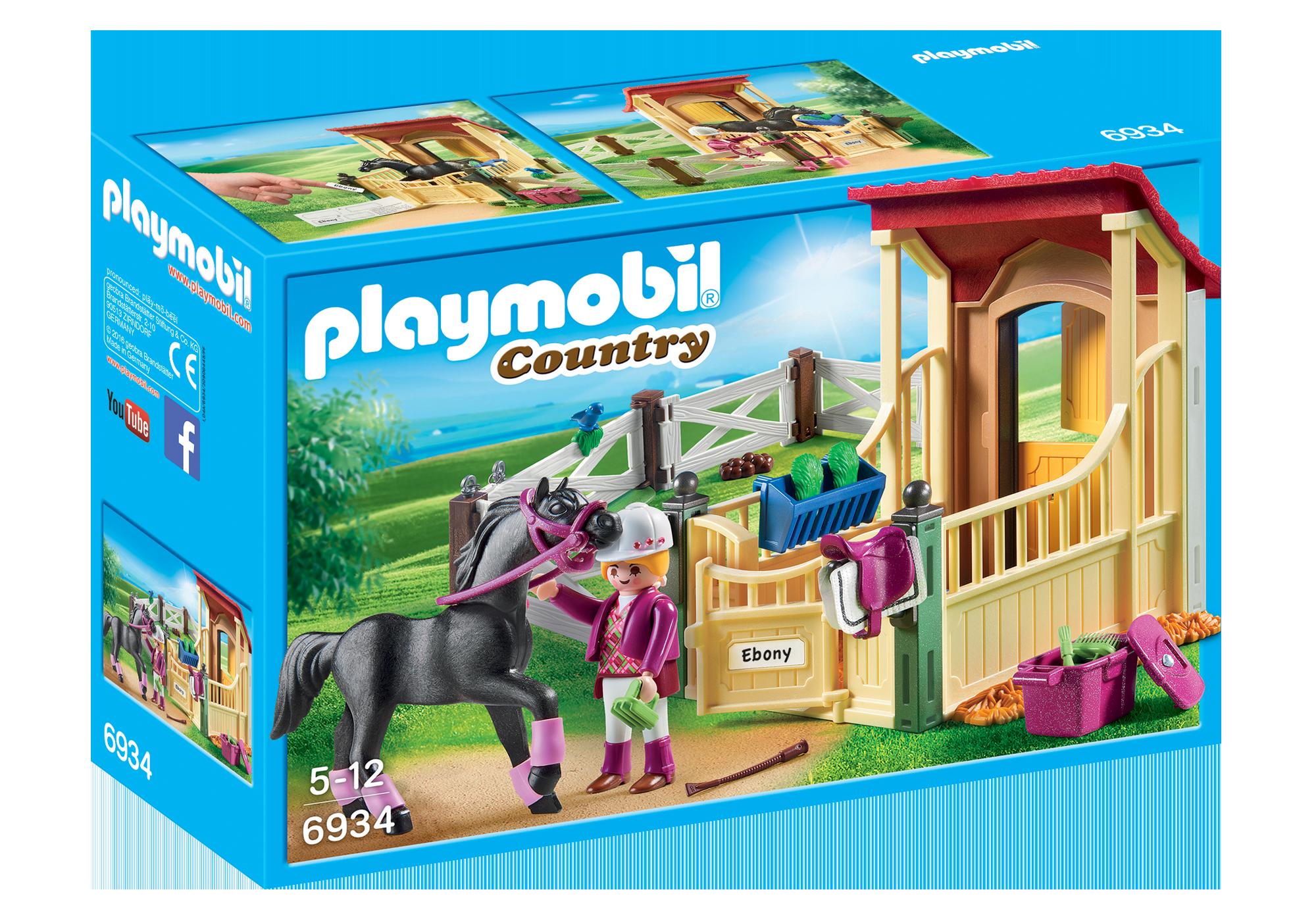 http://media.playmobil.com/i/playmobil/6934_product_box_front/Cavalo Árabe com Estábulo