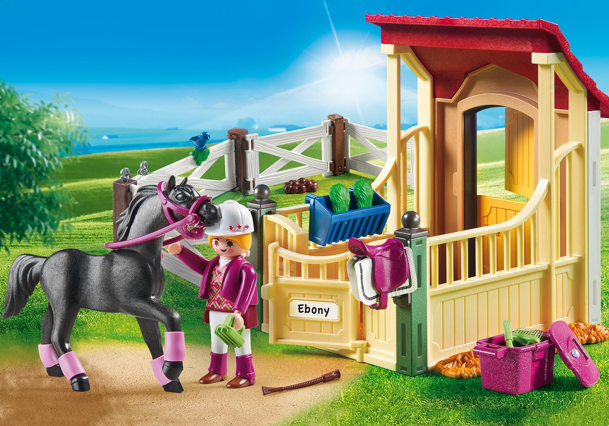 http://media.playmobil.com/i/playmobil/6934_product_detail/Cavalo Árabe com Estábulo