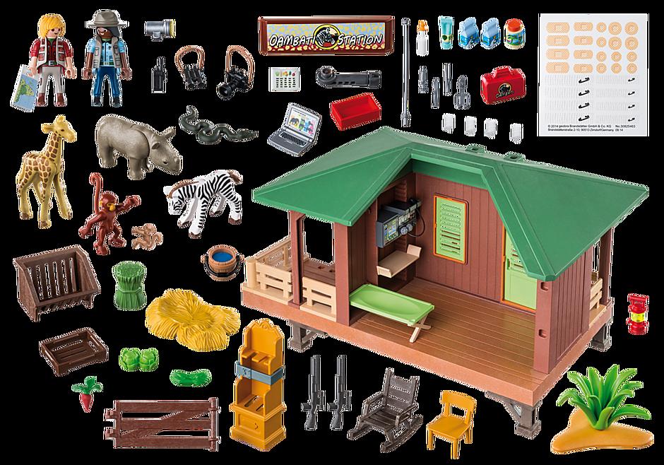 http://media.playmobil.com/i/playmobil/6936_product_box_back/Σταθμός περίθαλψης άγριων ζώων