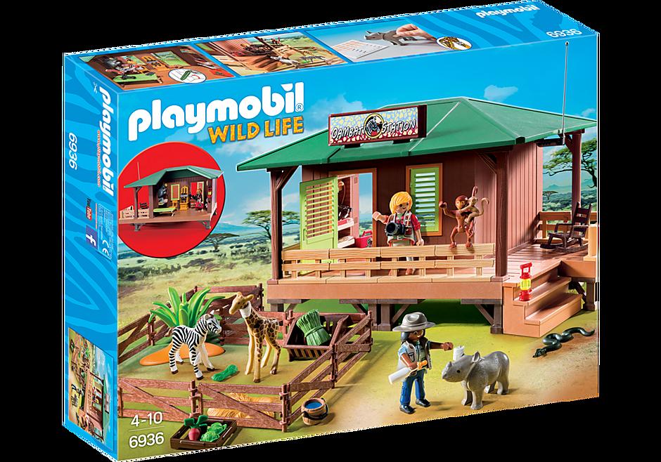 http://media.playmobil.com/i/playmobil/6936_product_box_front/Domek Rangera z hodowlą zwierząt