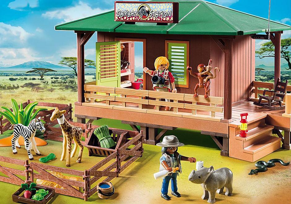 6936 Rangerpost voor gewonde dieren detail image 1