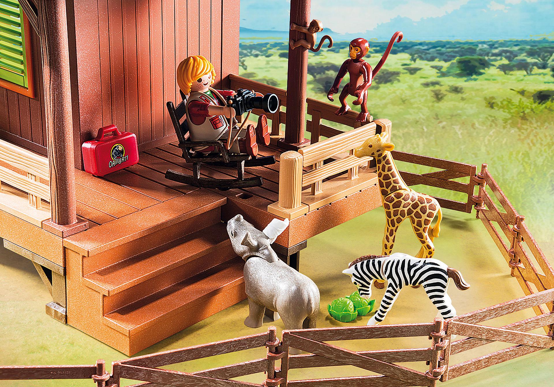 http://media.playmobil.com/i/playmobil/6936_product_extra3/Σταθμός περίθαλψης άγριων ζώων