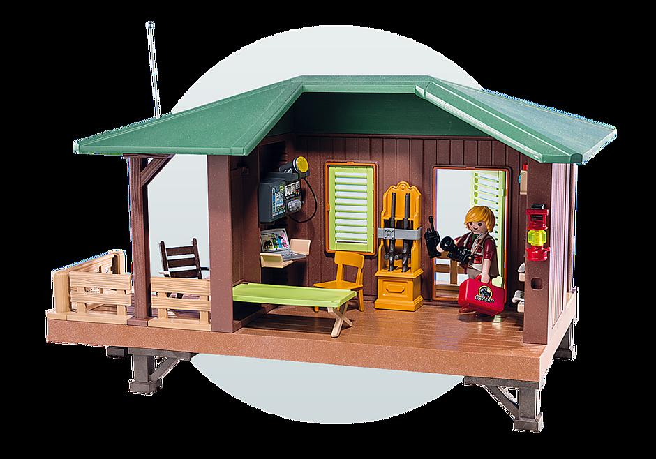 http://media.playmobil.com/i/playmobil/6936_product_extra5/Domek Rangera z hodowlą zwierząt