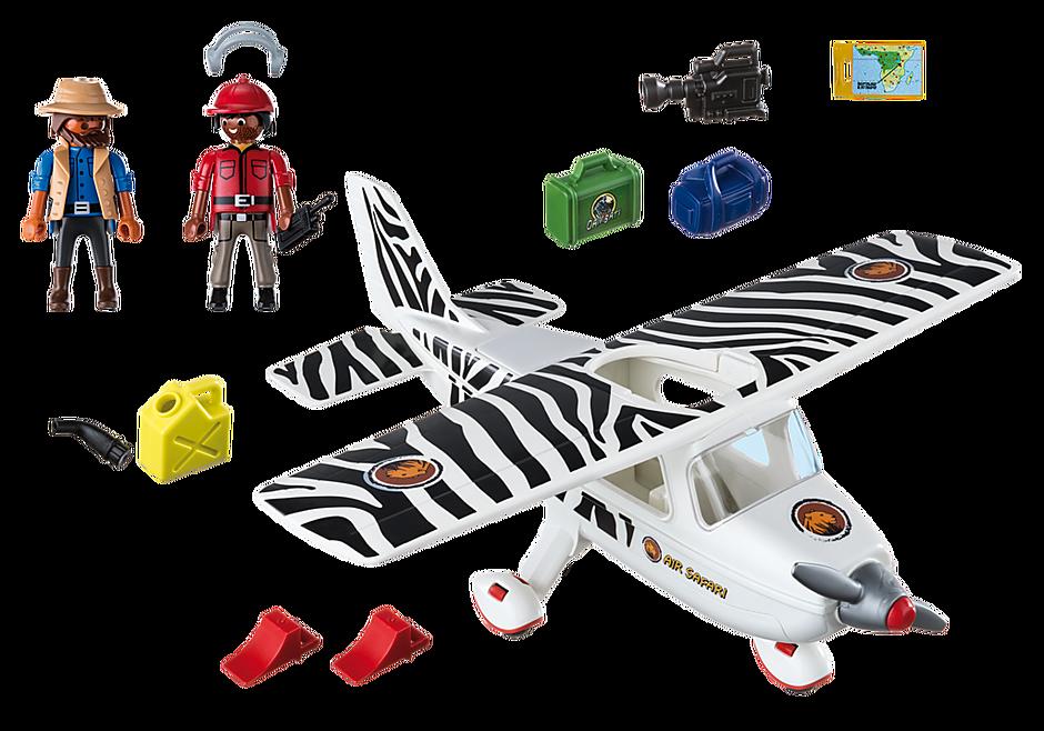 6938 Avion avec explorateurs  detail image 4