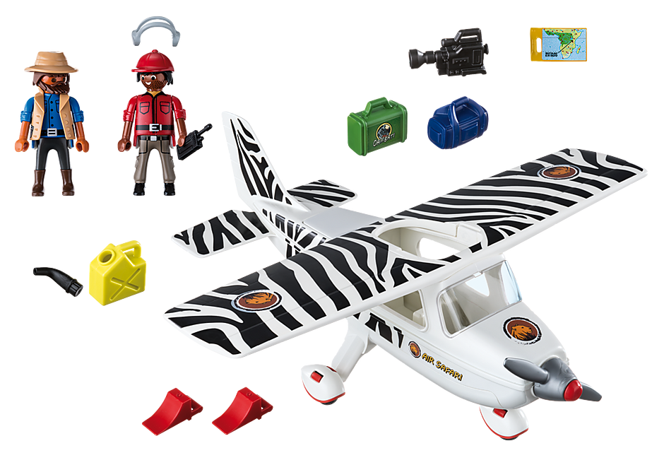6938 Safari vliegtuig detail image 4