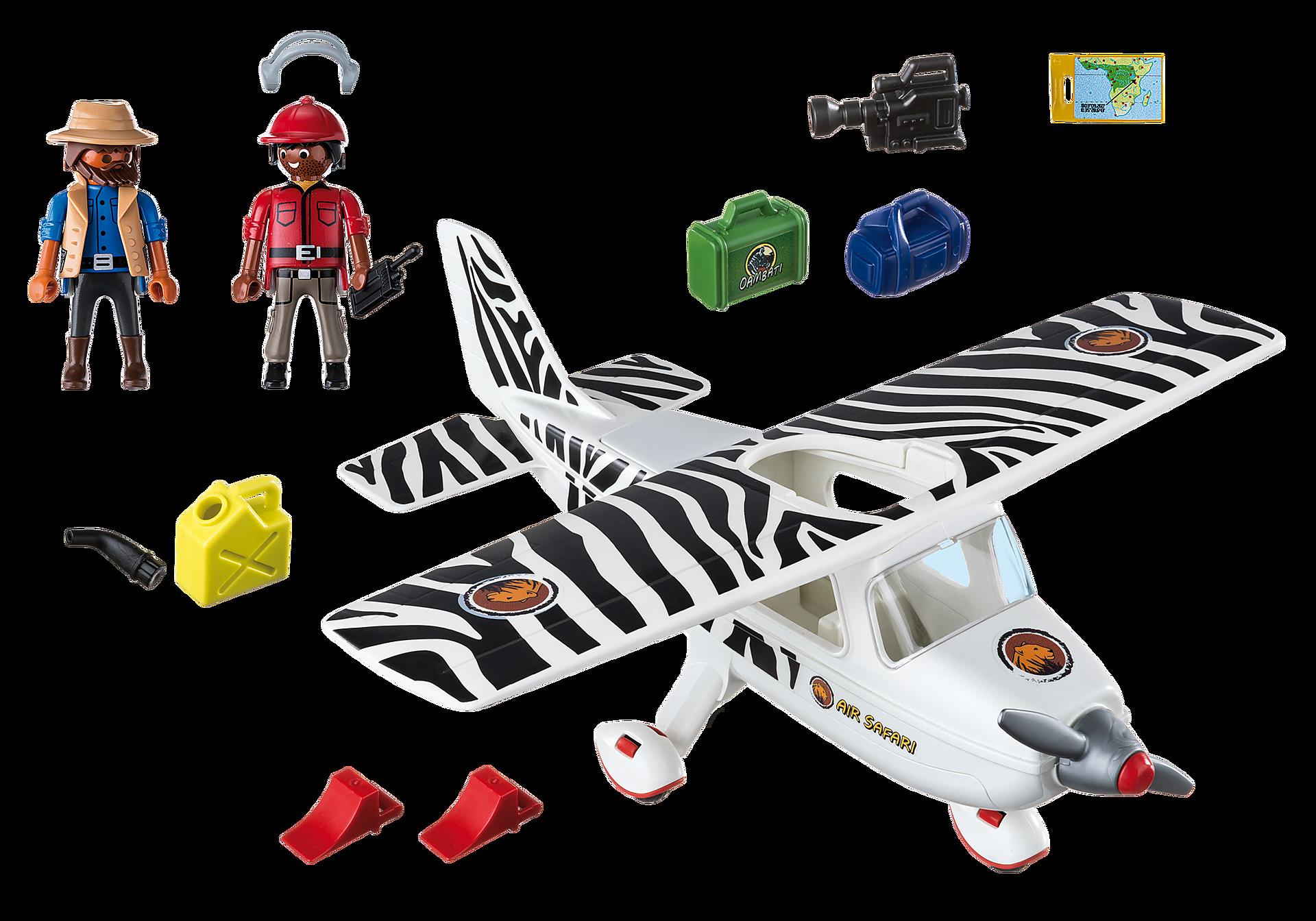 6938 Safari vliegtuig zoom image4