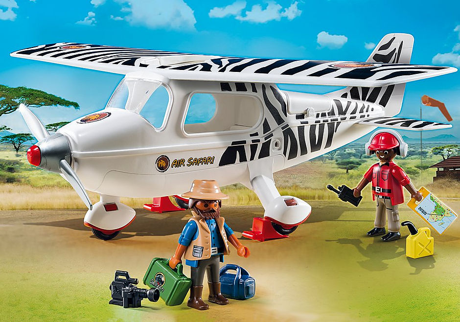 6938 Safari-Flugzeug detail image 1