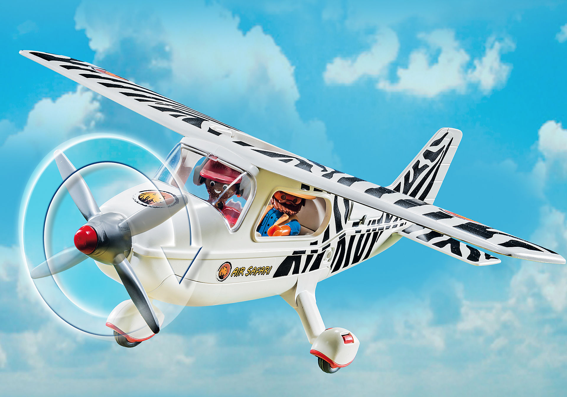 6938 Safari vliegtuig zoom image6