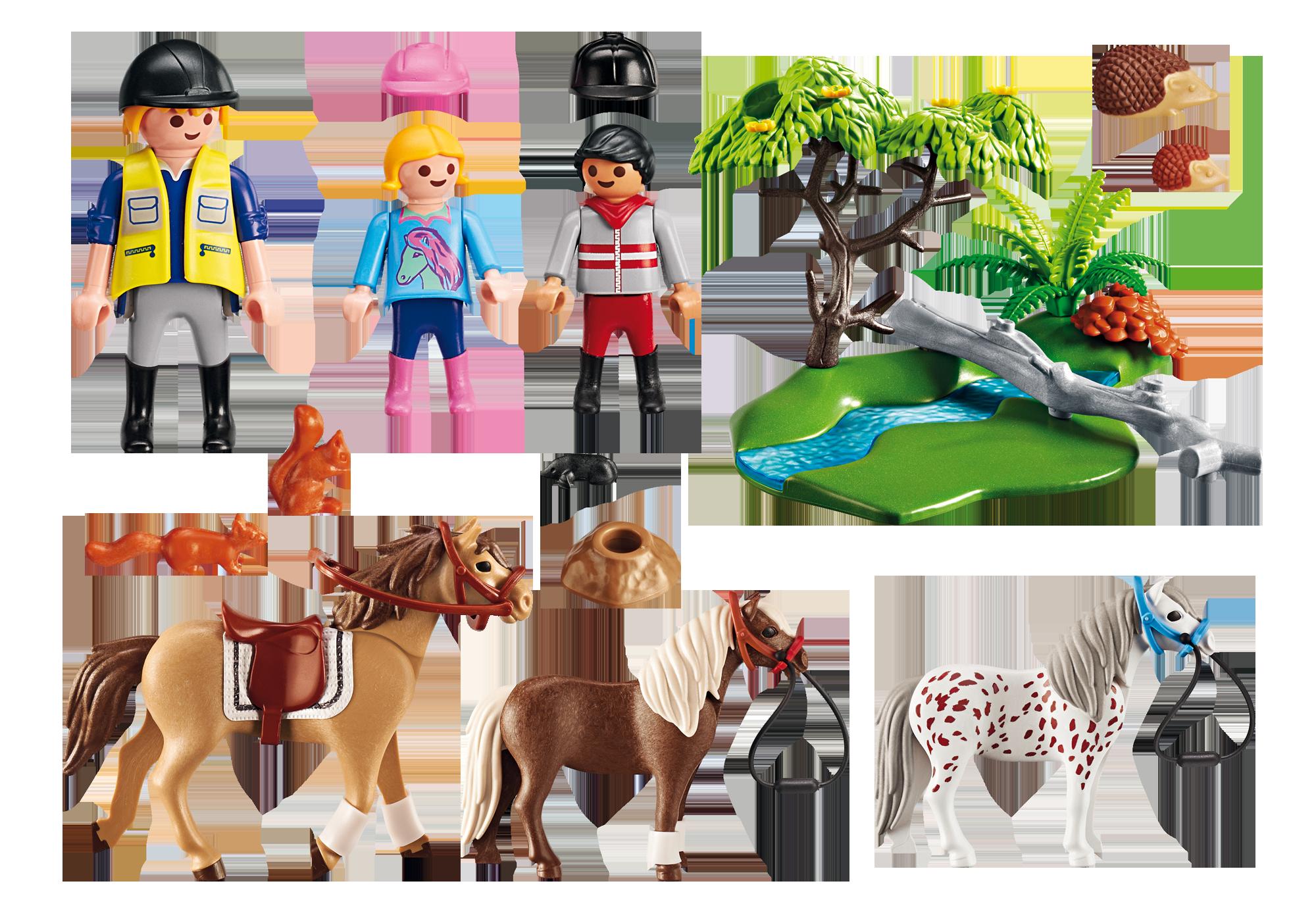 http://media.playmobil.com/i/playmobil/6947_product_box_back/Παιδάκια με πόνυ και εκπαιδευτής με άλογο