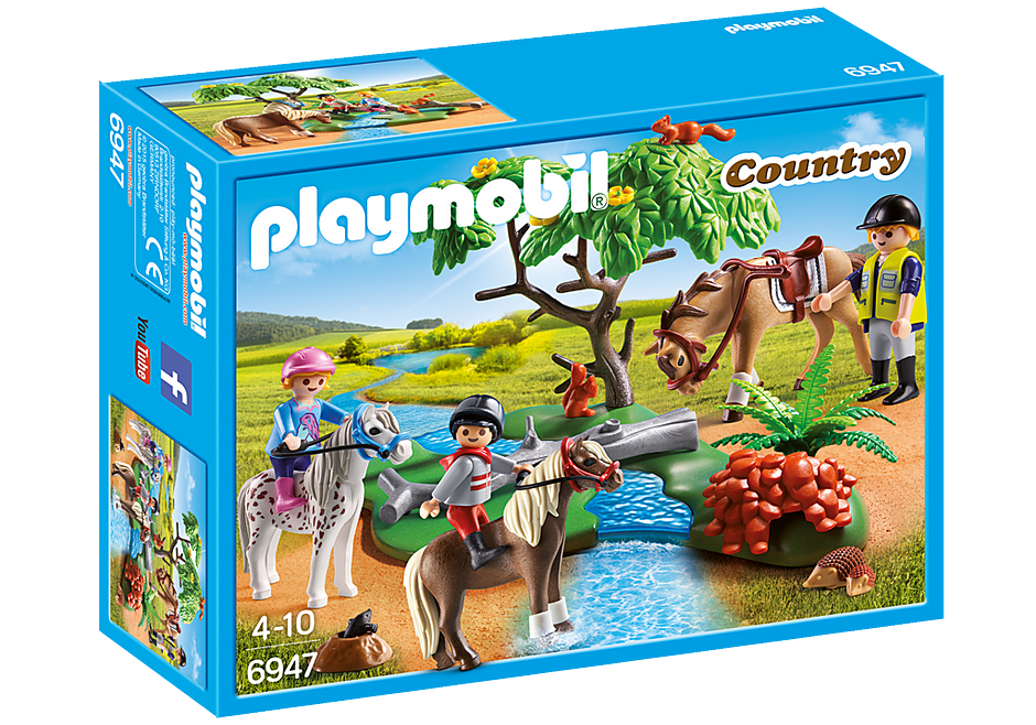 6947 Country Horseback Ride detail image 3