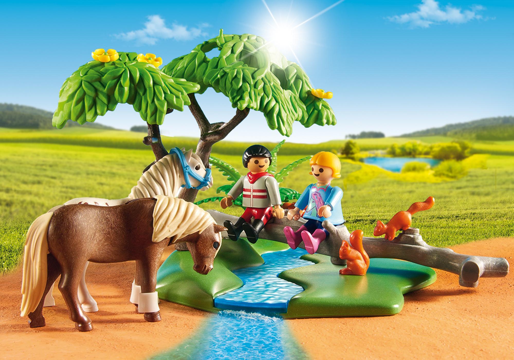 http://media.playmobil.com/i/playmobil/6947_product_extra1/Παιδάκια με πόνυ και εκπαιδευτής με άλογο