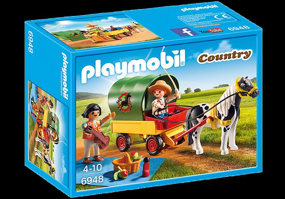 6948 Picknick met ponywagen detail image 3