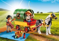 Playmobil Picnic With Pony Wagon 6948