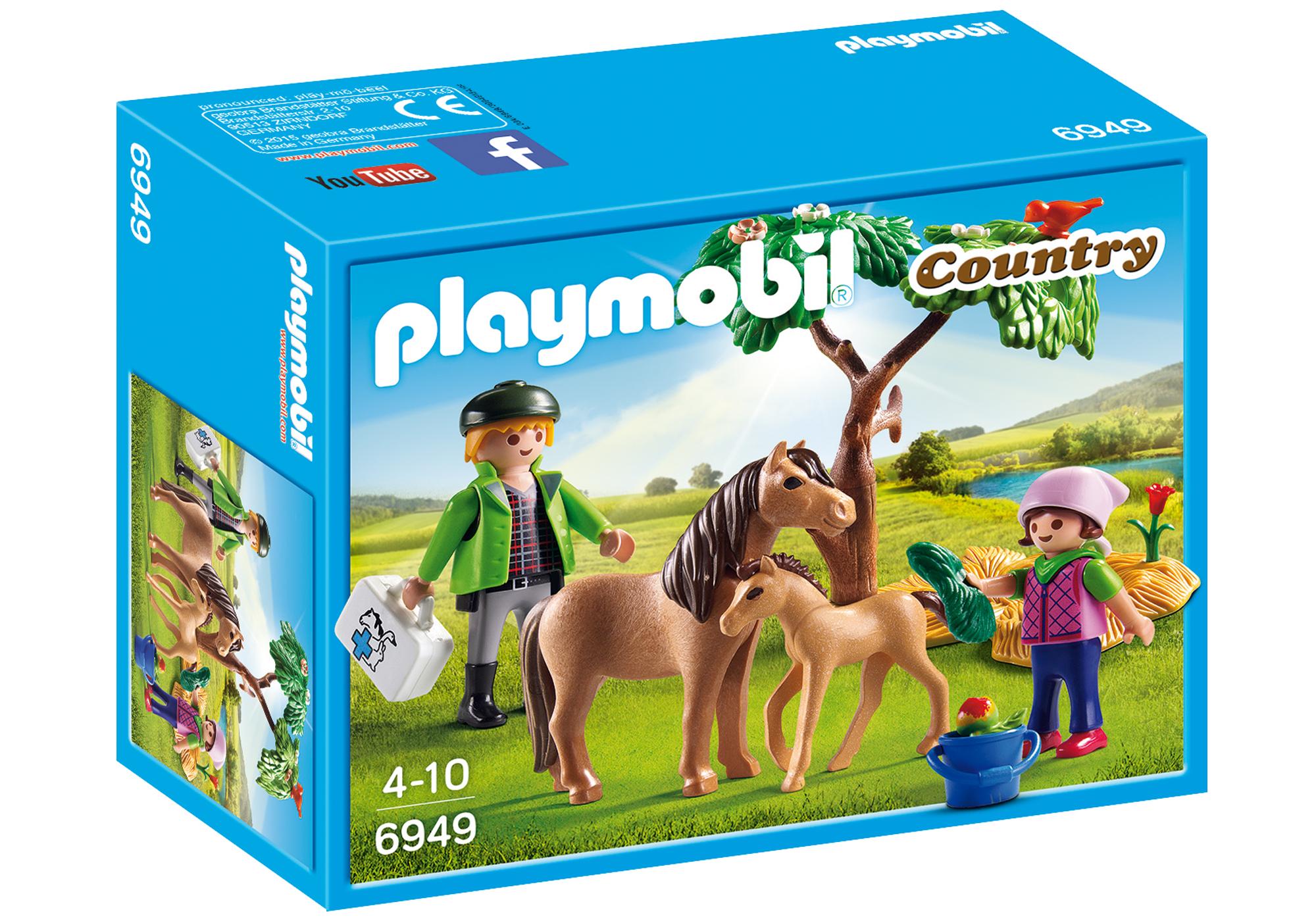 http://media.playmobil.com/i/playmobil/6949_product_box_front/Kucyk mama ze źrebaczkiem