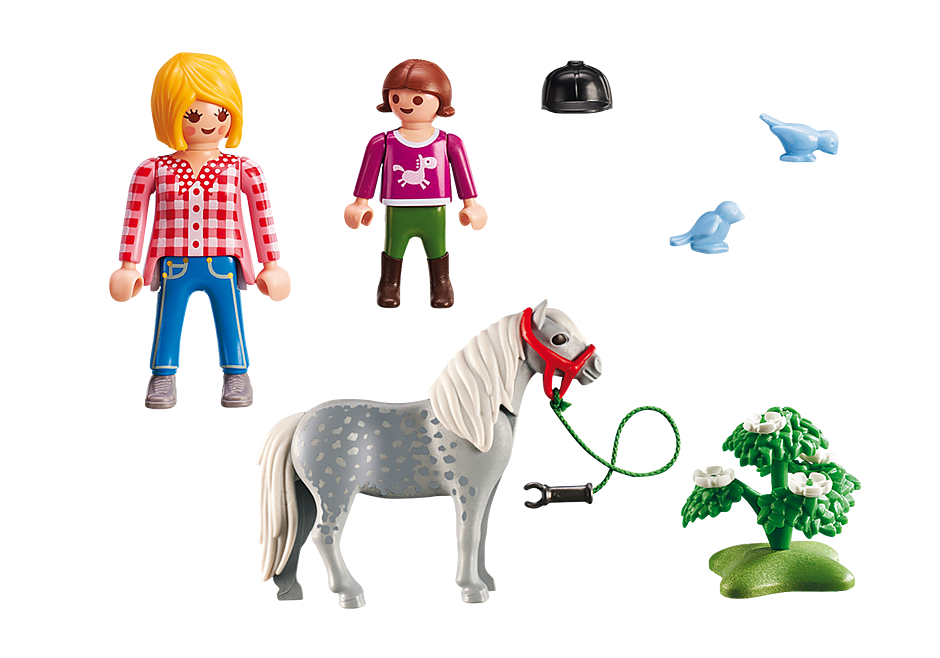 http://media.playmobil.com/i/playmobil/6950_product_box_back/Cavalière avec soigneur et poney
