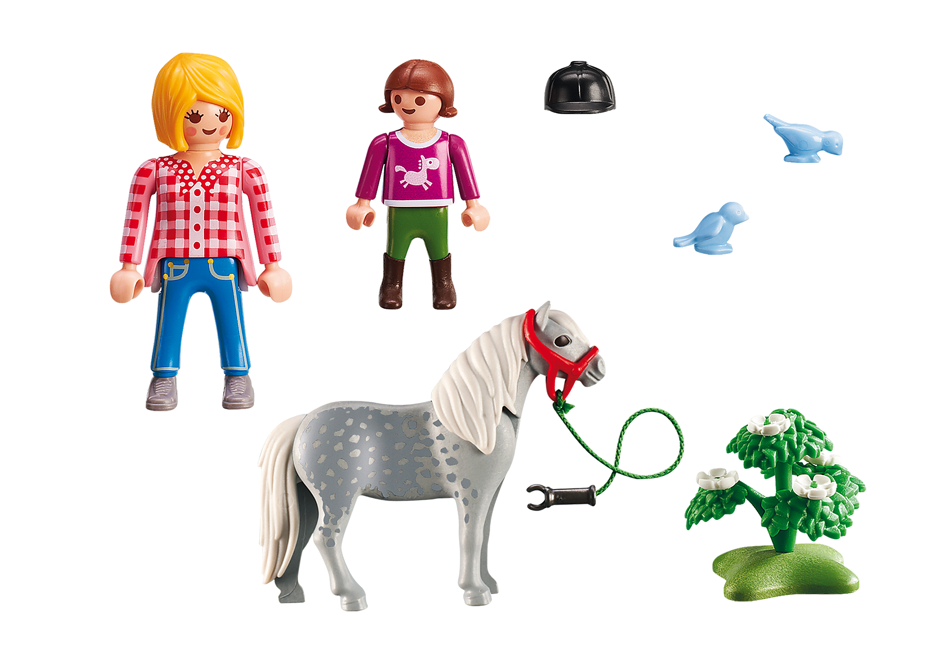 http://media.playmobil.com/i/playmobil/6950_product_box_back/Spacer z kucykiem