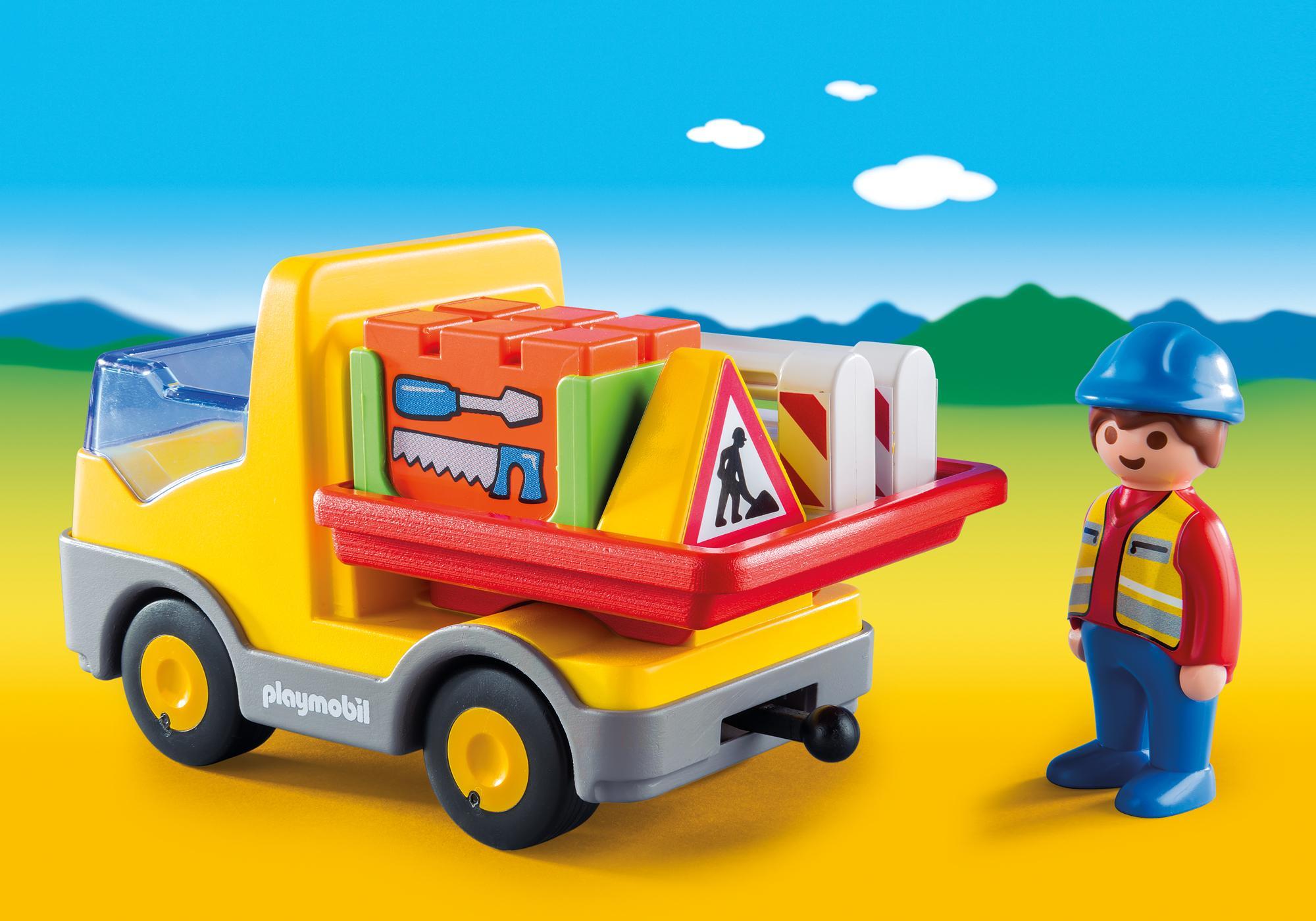 http://media.playmobil.com/i/playmobil/6960_product_extra1/1.2.3 Camión de Construcción