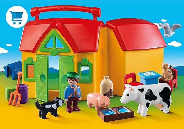 6962_product_detail/Ferme transportable avec animaux