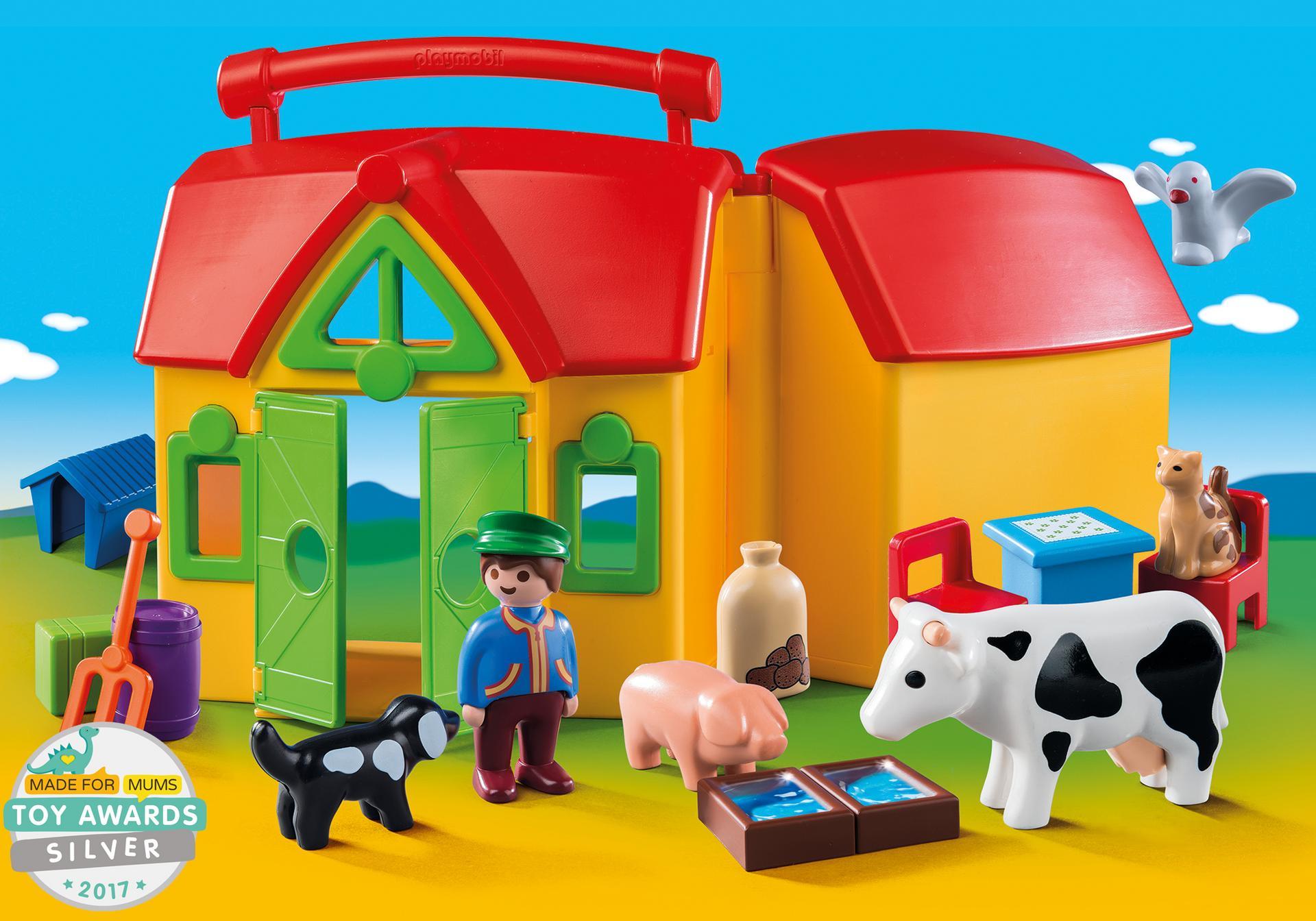my take along farm 6962 playmobil united kingdom. Black Bedroom Furniture Sets. Home Design Ideas