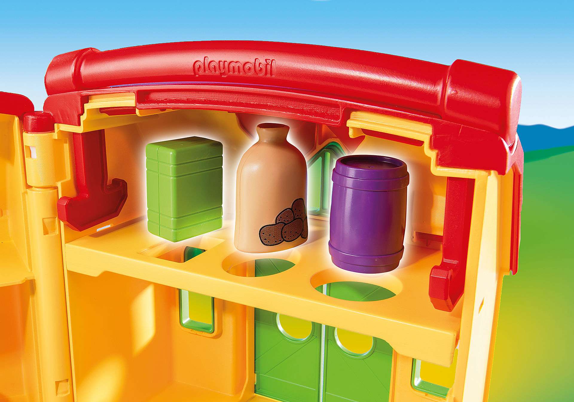 http://media.playmobil.com/i/playmobil/6962_product_extra1/Ferme transportable avec animaux