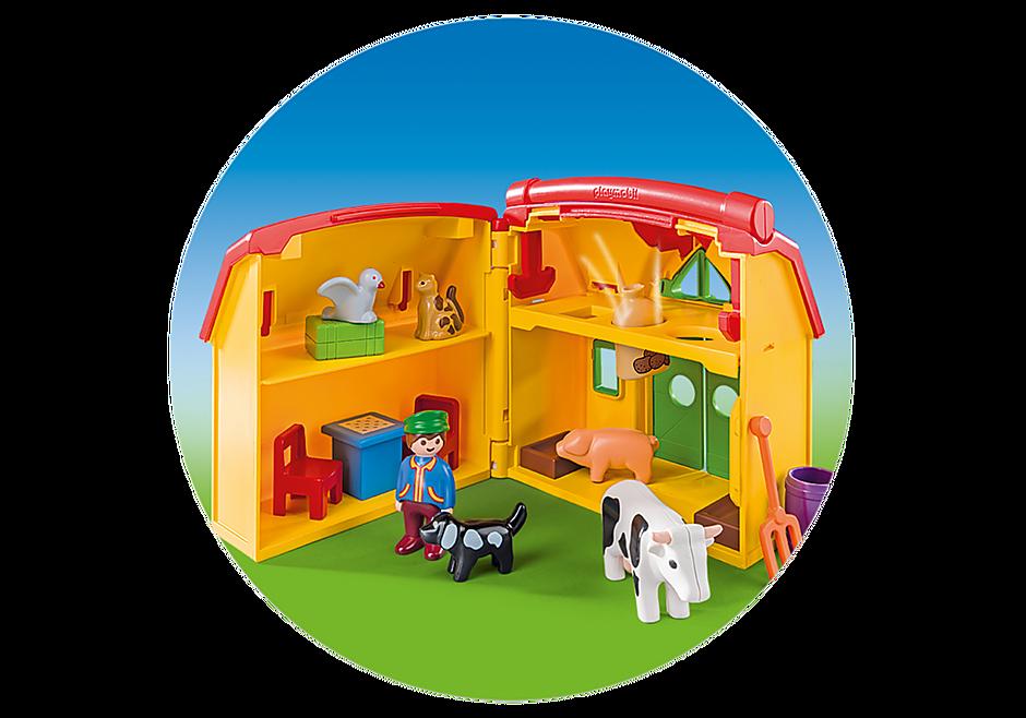 http://media.playmobil.com/i/playmobil/6962_product_extra3/Ferme transportable avec animaux