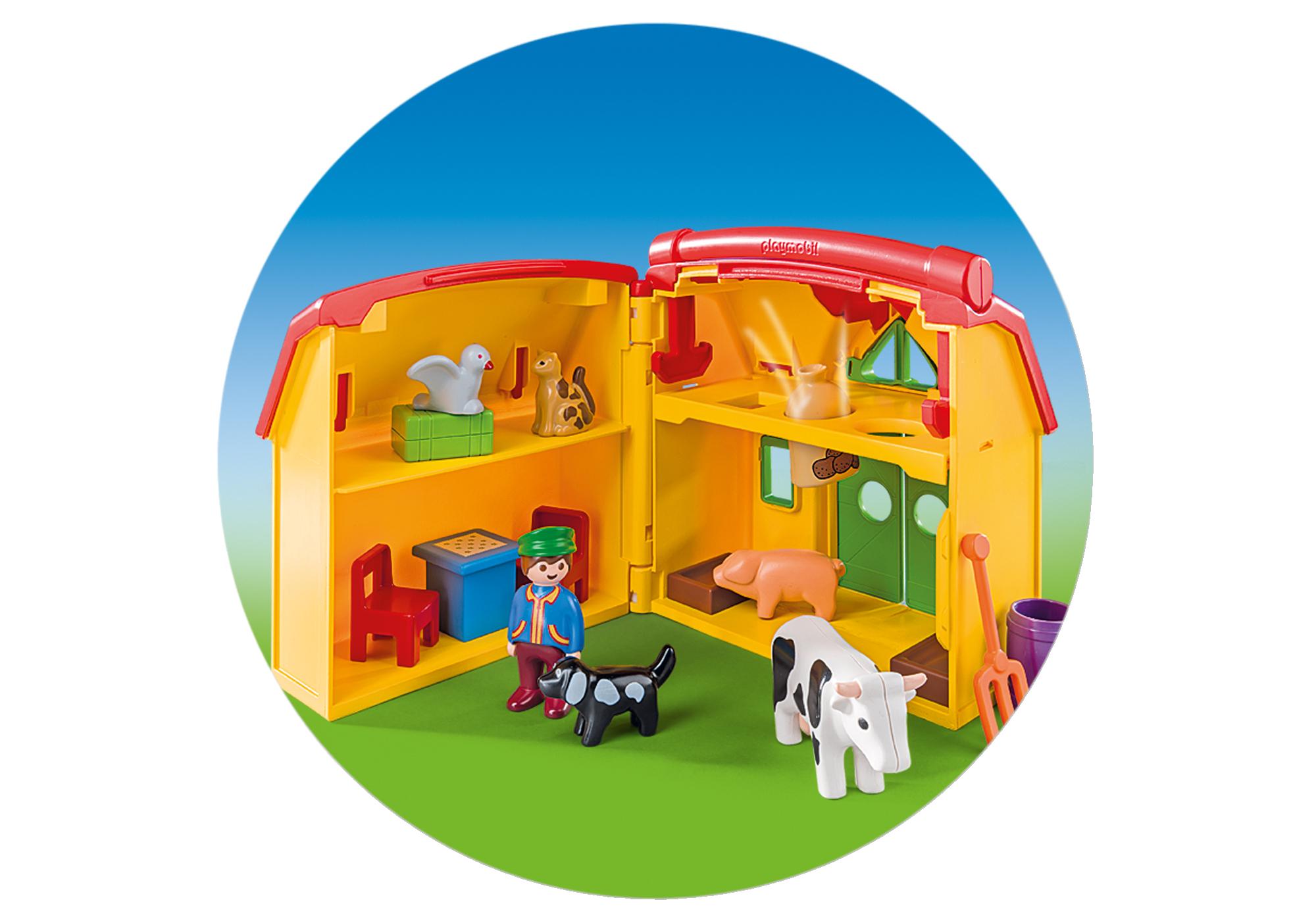 http://media.playmobil.com/i/playmobil/6962_product_extra3/Meeneemboerderij met dieren