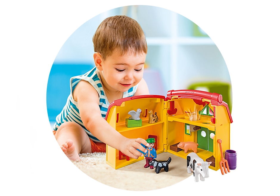 http://media.playmobil.com/i/playmobil/6962_product_extra4/Ferme transportable avec animaux