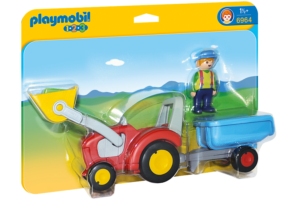 http://media.playmobil.com/i/playmobil/6964_product_box_front/1.2.3 Tractor con Remolque
