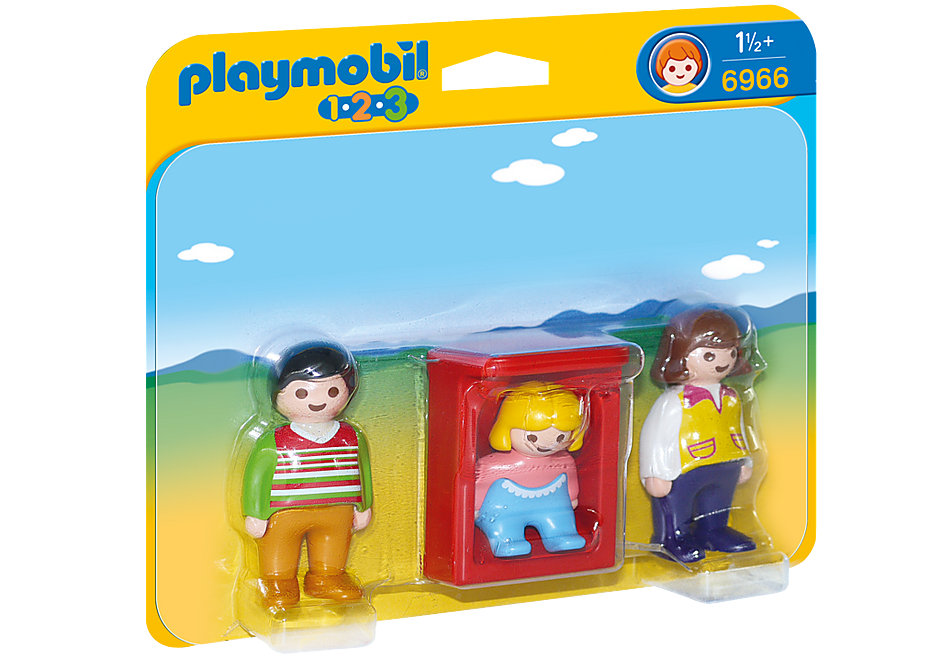 6966 Parents avec bébé  detail image 3