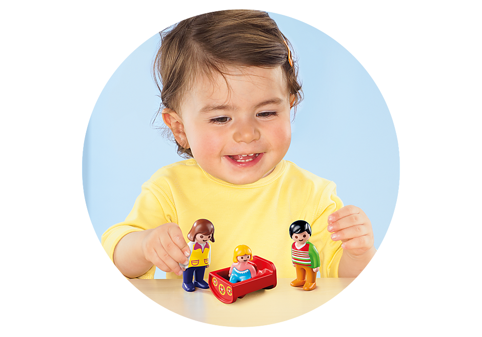 6966 Parents avec bébé  detail image 4