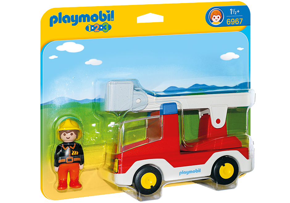 http://media.playmobil.com/i/playmobil/6967_product_box_front/Wóz strażacki z drabiną