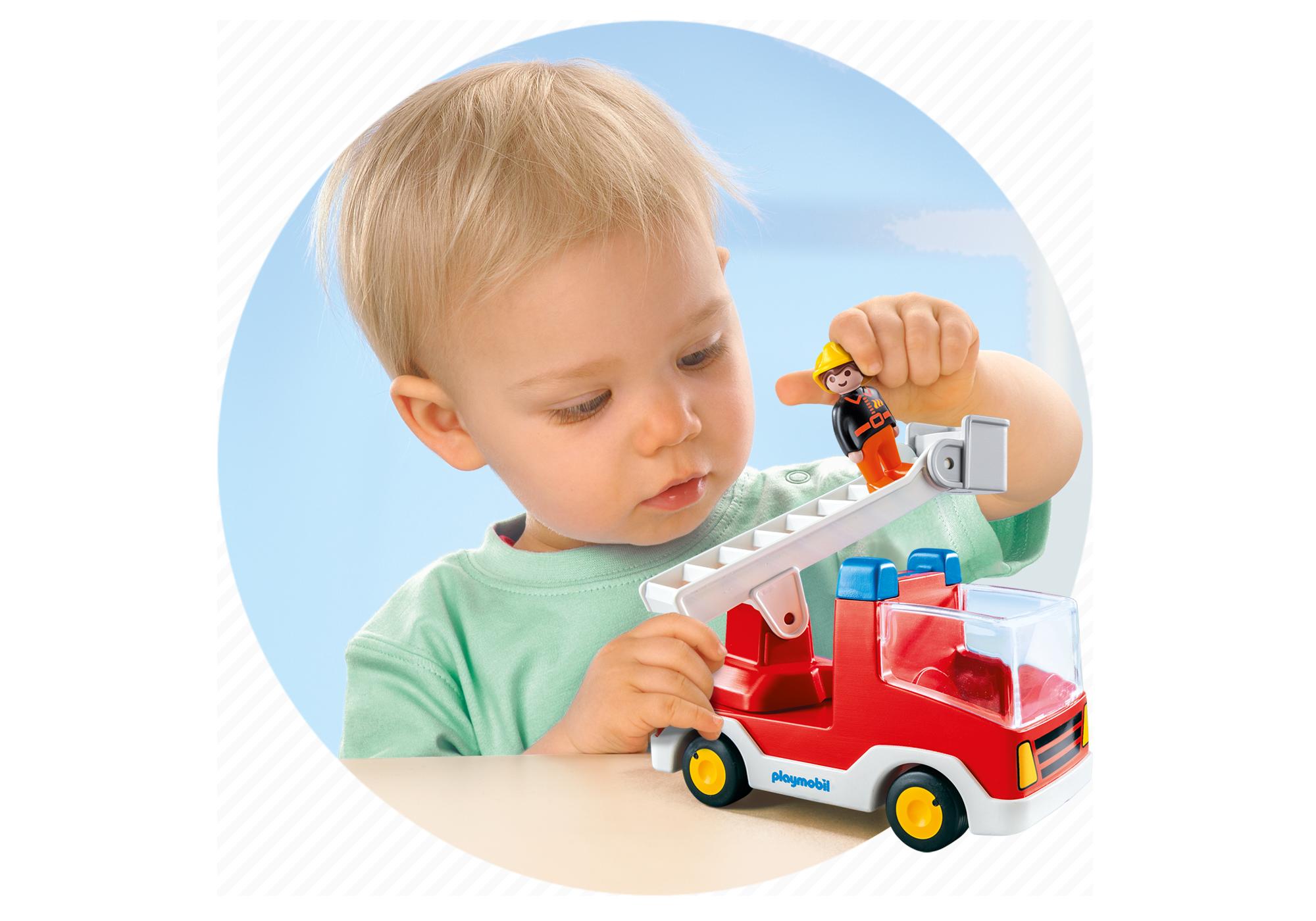 http://media.playmobil.com/i/playmobil/6967_product_extra1/Ladder Unit Fire Truck