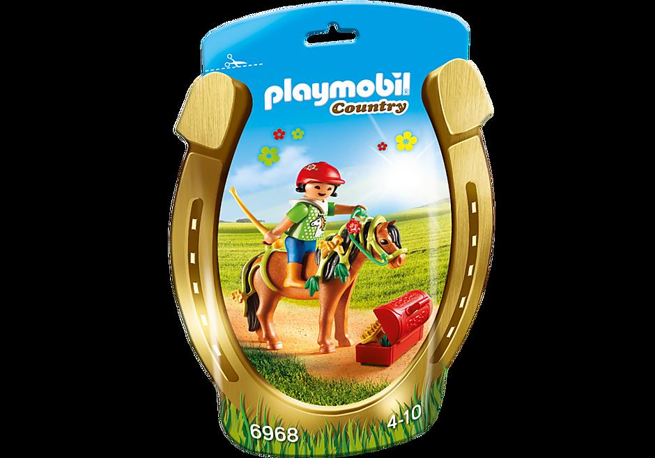 6968 Pony om te versieren Bloem detail image 3