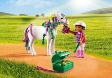 Playmobil Groomer With Heart Pony 6969