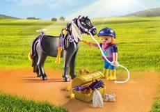 Playmobil Groomer With Star Pony 6970