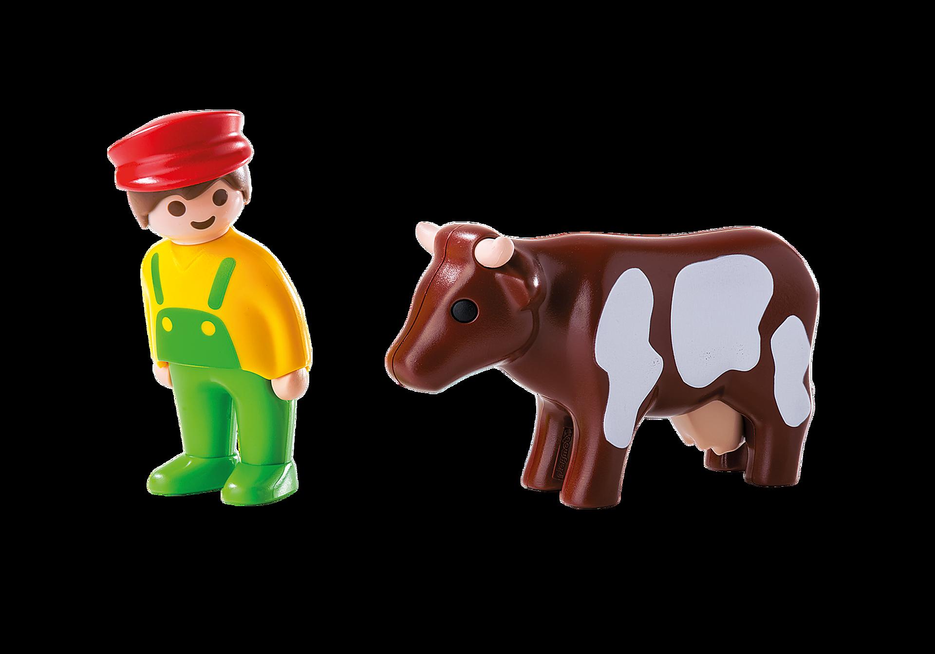 6972 Contadino e mucche 1.2.3 zoom image3